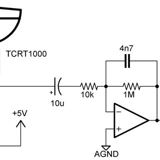 This simple circuit removes the DC and high frequency