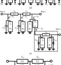 b illustrates the equivalent circuit of the spdt switch when is below  [ 850 x 1481 Pixel ]