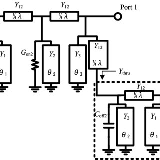 (a) Circuit block diagram of conventional SPDT switches