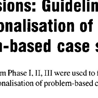 (PDF) Problem-based case study to enhance critical