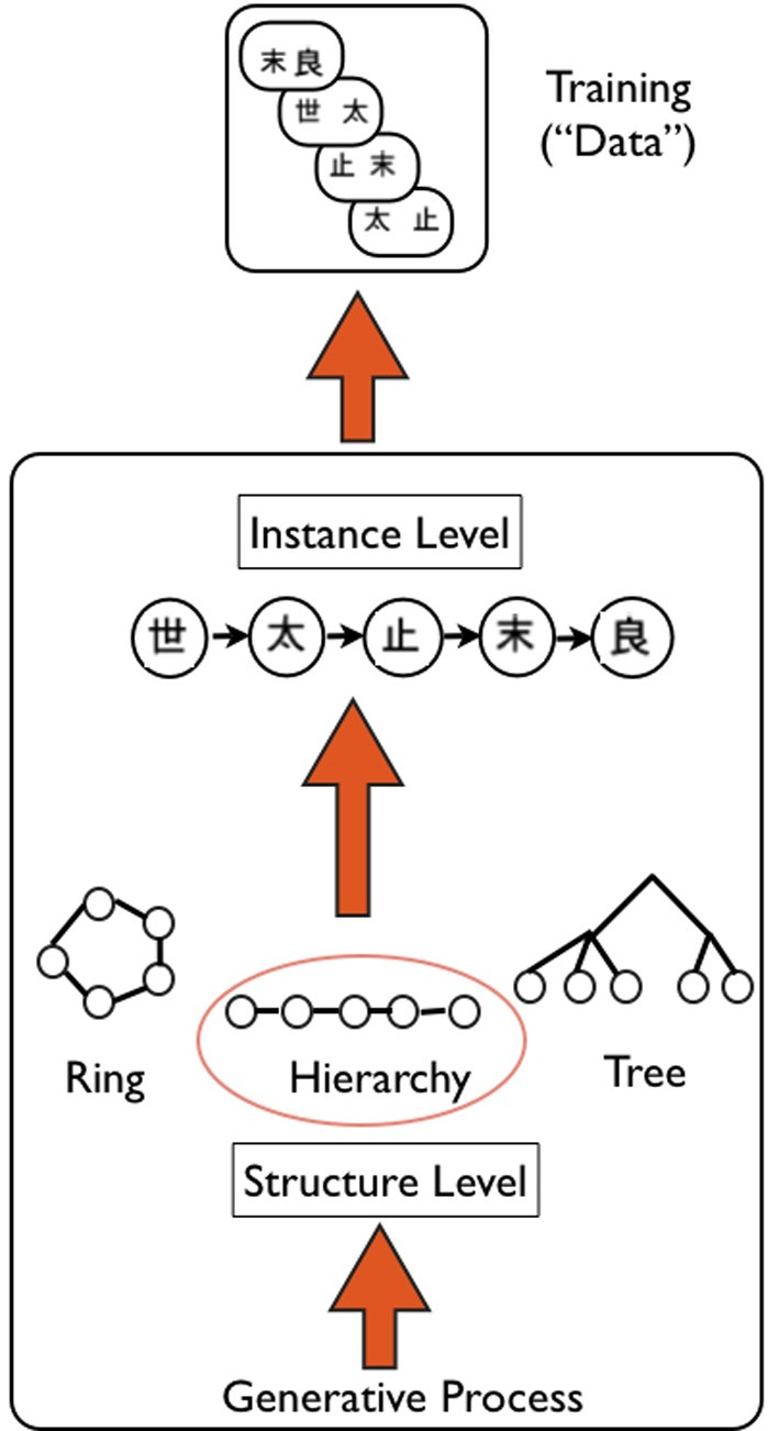 Schematic of Hierarchical Bayesian Model (HBM), as applied