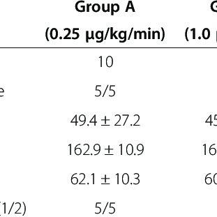 Anesthetic protocol. *Case of hemodynamic suppression