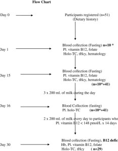 Flow chart participants were registered on day fasting blood was collected of they instructed to continue their usual also rh researchgate