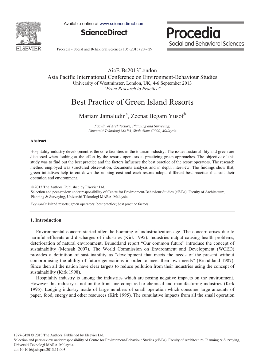 PDF Barriers Of Adopting Environmental Management Practices In The