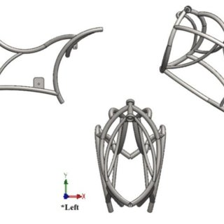 Chassis 3D modelling with CAD software SolidWorks 2012