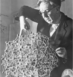 bernal building his first simple liquid model in his office  [ 850 x 1214 Pixel ]