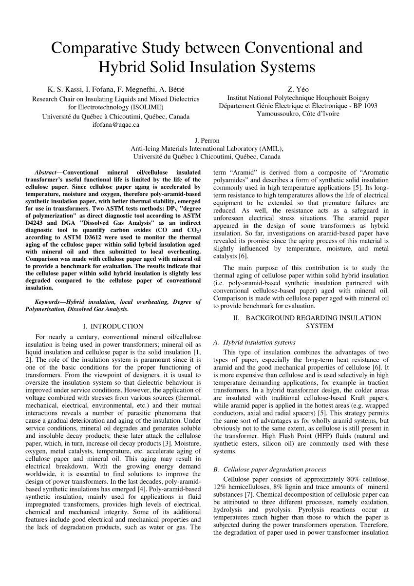 PDF Calculation Of The Remaining Lifetime Of Power Transformers