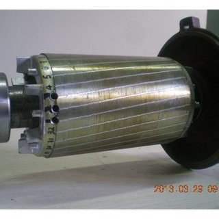 Torque-speed characteristic curve of squirrel-cage motor