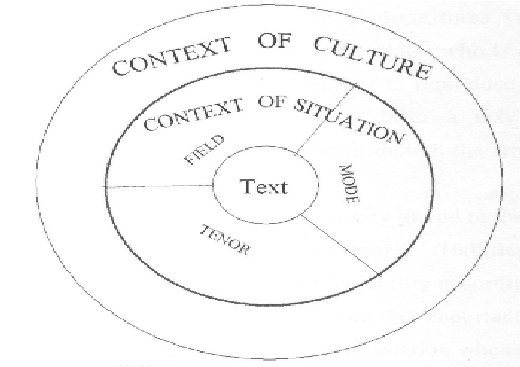 Text in context (adapted from Butt et al, 2004: 4