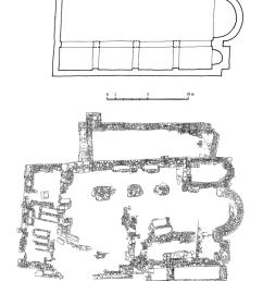 church of st michael in prevlaka a plan of basilica church reconstruction [ 850 x 1184 Pixel ]