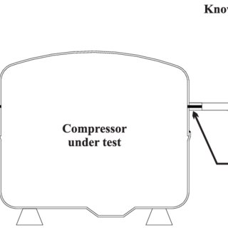 A general scheme of the test rig for measuring the