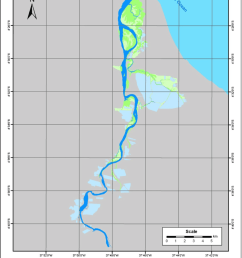 thematic map of coastal wetland distribution in jaguaribe river download scientific diagram [ 850 x 1193 Pixel ]