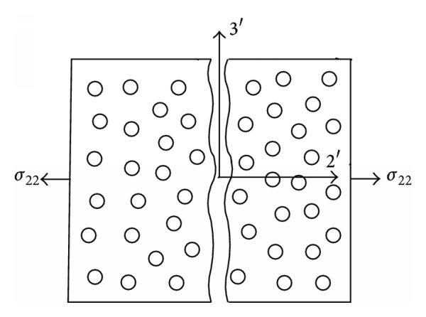 Interfiber failure of composite materials: (a) matrix