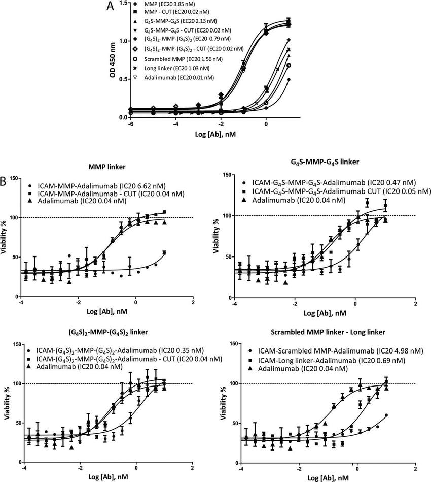 medium resolution of anti tnf activity of dvd antibodies a tnf binding capacity for dvd antibodies