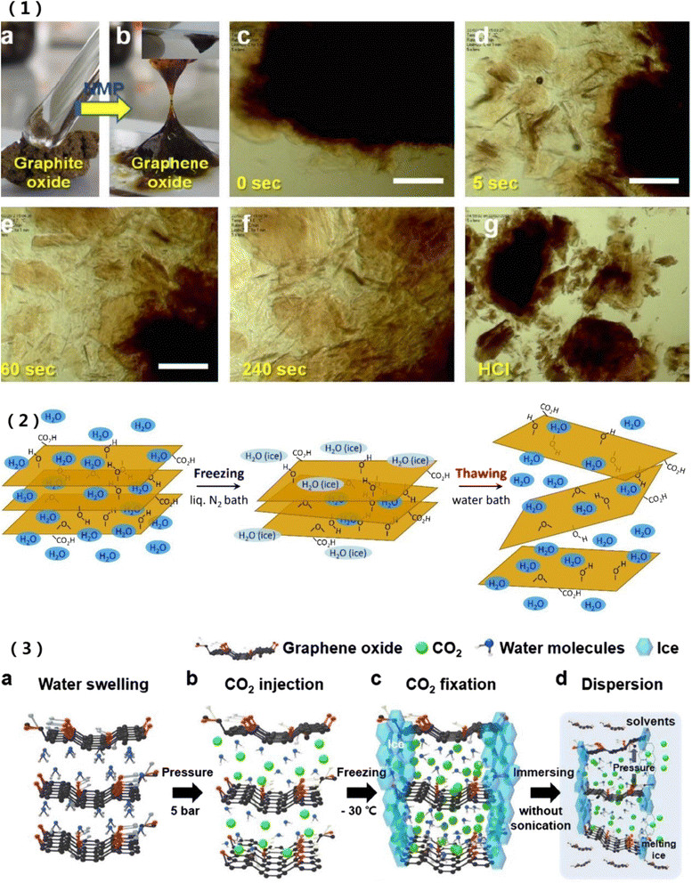 phase diagram of graphene draw the block computer spontaneous exfoliation graphite oxide in n-methyl-2-pyrrolidone... | download scientific