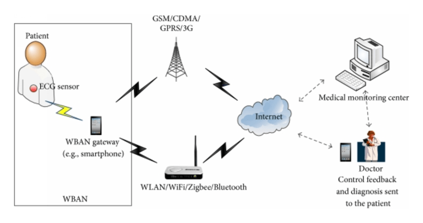 The whole system of hybrid wireless sensor network model