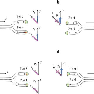 Single fiber sensing methods using: (a) evanescent field