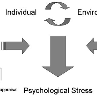 The Psychological Stress Model adapted from Lazarus and