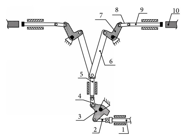 Transmission mechanism of the ultrahigh voltage circuit