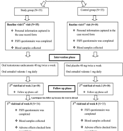flow diagram of study based on consort guidelines 2010 [ 850 x 1298 Pixel ]