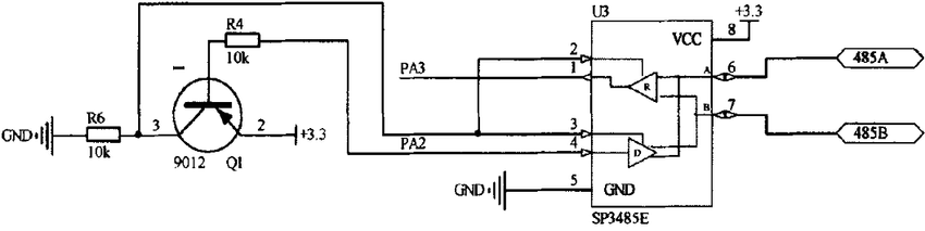 wiring diagram for rs485