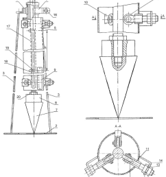 design of the device 1 framework 2 base 3 support 4ball bearings 5 the guide tube 6 pin 7 the conical tip indentation 8 change freight 9 ruler  [ 850 x 1011 Pixel ]