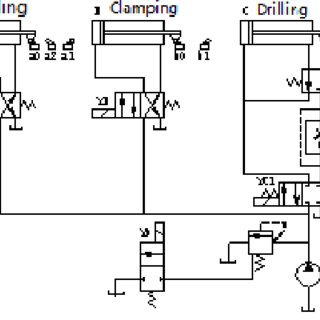 Full-automatic special drill PLC wiring diagram According