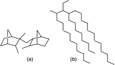 Molecular structure of DM2H, b representative molecular