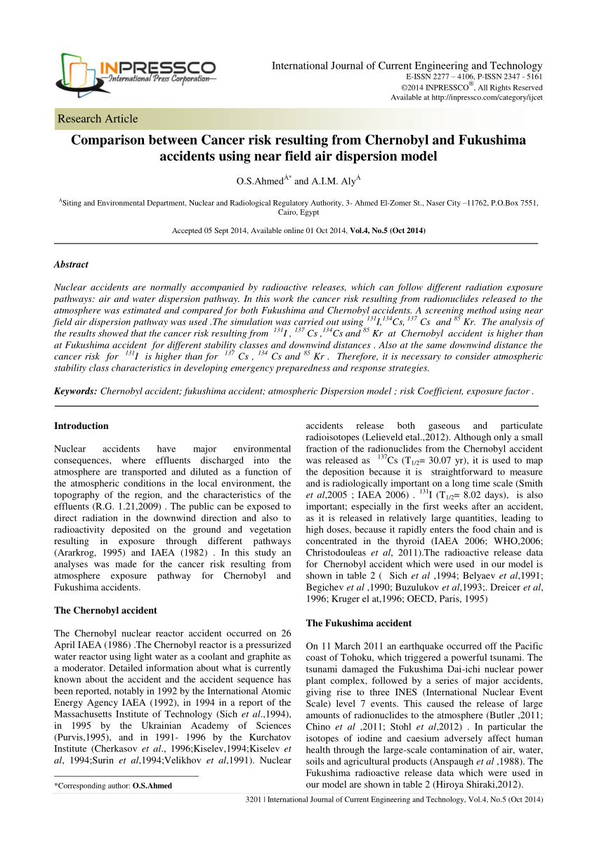 PDF Short Term And Long Term Health Risks Of Nuclear Power Plant