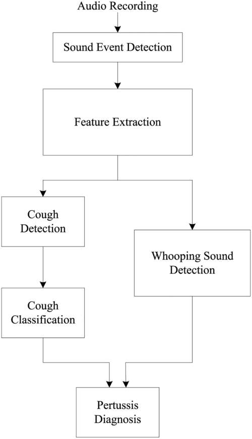 small resolution of block diagram of the automatic pertussis identification algorithm