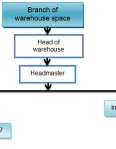 The organizational structure of department warehouse in hip petrochemical    also rh researchgate