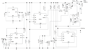 The circuit diagram of the PLC auto power reset From