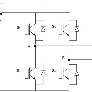 Simplified model of common mode model of single phase grid