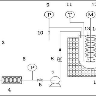 Schematic diagram of supercritical methanol