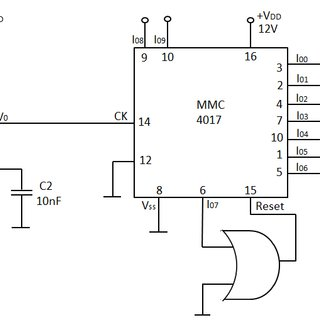 The control circuit of the voltage inverter Four IGBT
