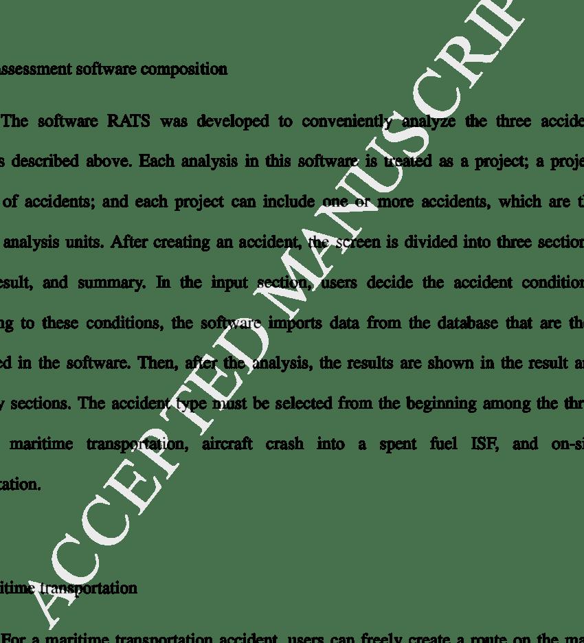 medium resolution of fea for cask damage during on site transportation download scientific diagram