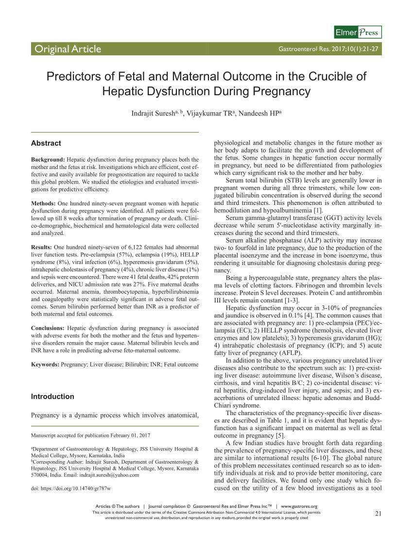 PDF Hemostasis During Normal Pregnancy And Puerperium