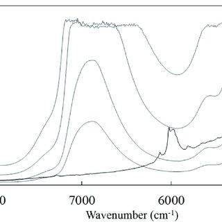 NIR second derivative spectra (gap-segment, 23 segments
