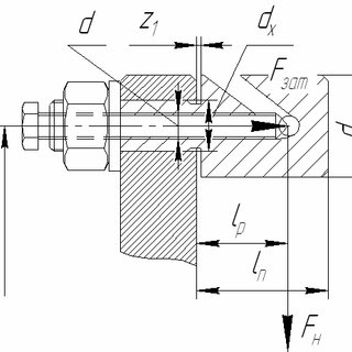 General view of the coupling with rope elastic elements