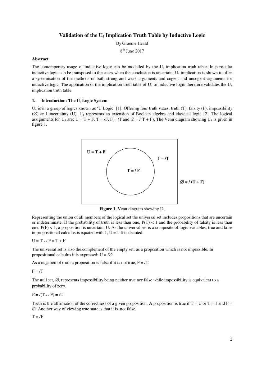 medium resolution of figure 1 venn diagram showing u 4 scientific diagram boolean algebra venn diagram circuit diagram boolean expression wiring diagrams