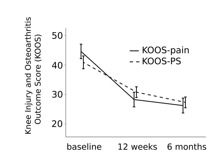 Knee Injury and Osteoarthritis Outcome Score (KOOS) pain