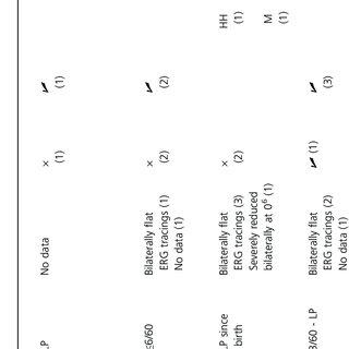 (PDF) The genetic profile of Leber congenital amaurosis in