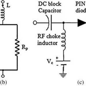 Equivalent circuit and configuration of PIN diode bias
