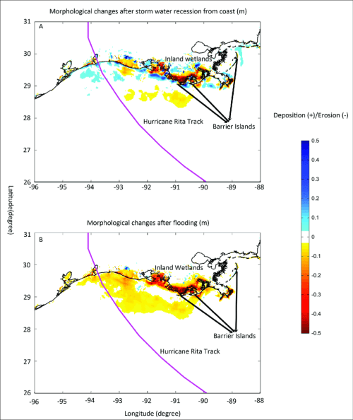 small resolution of morphological changes of the continental shelf and coastal wetlands due download scientific diagram