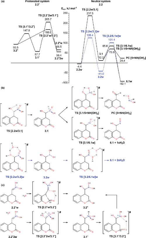 small resolution of  a energy diagram of the mechanism for o atom migration assisted by a