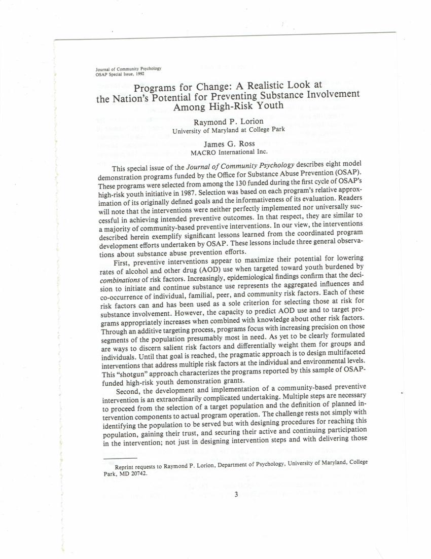 PDF Principles Of Community Psychology Oxford University Press