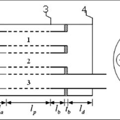 Cross Section Diagram Of Muffler Pir Security Light Wiring Three Pass Perforated Tube With Circular