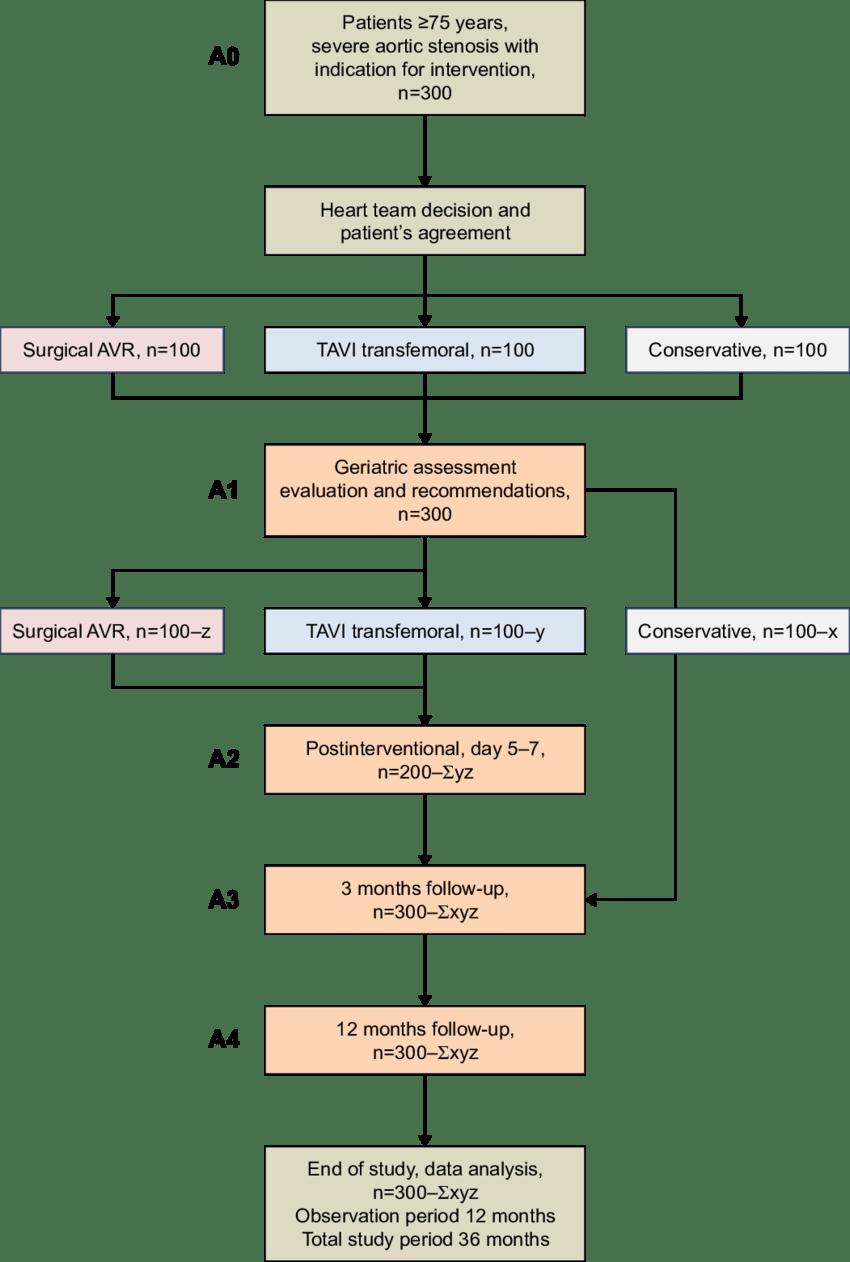 medium resolution of study flow diagram abbreviations avr aortic valve replacement tavi transcatheter aortic