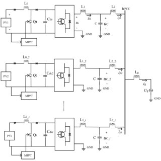 Low voltage ride through operation of a 1 kW single-phase
