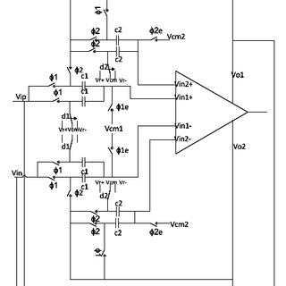 Block diagram of SAR ADC based on monotonic switching (MS